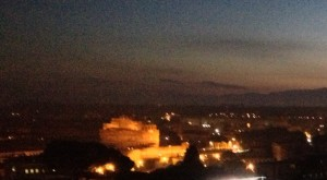 Rome at daybreak
