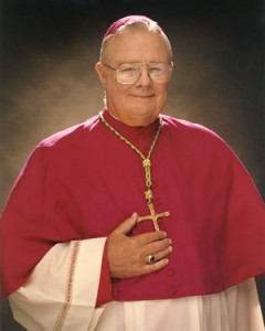 Most Reverend David Thompson, Bishop Emeritus of the Diocese of Charleston, South Carolina.