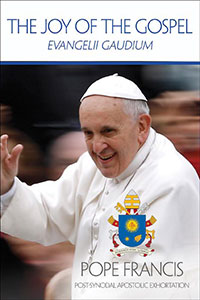 The Joy of the Gospel is the new teaching document from Pope Francis about the joy of the gospel. To order a copy, go to USCCB Publishing (usccbpublishing.org)