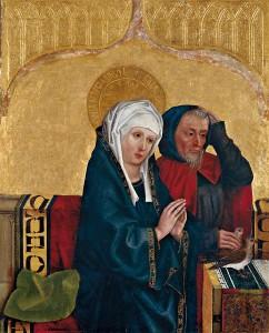 Mary and Joseph by Hans Pleydenwurff