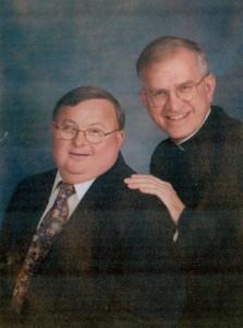 Archbishop Kurtz with his brother George.