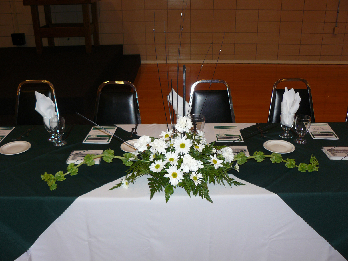 Flaget Center Reunion Head Table