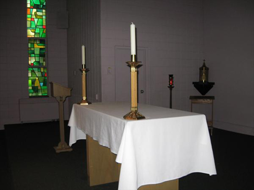 Flaget Center Altar
