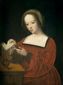 St. Mary Magdalene Reading by Adriaen Isebrant (ca. 1530s)